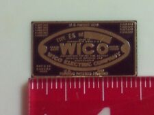 1/2 scale Wico Ek Nameplate for Hit and Miss Model Engine name tag