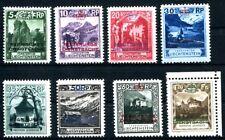 LIECHTENSTEIN DIENST 1932 1-8 ** POSTFRISCH TADELLOS 1500€+(S2035