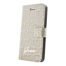ETUI FOLIO GUESS CROCO POUR IPHONE 4/4S BEIGE