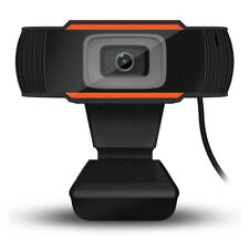 Rotatable 2.0 HD Webcam PC Digital USB Camera Video Recording with Microphone UK