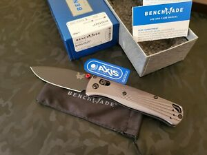 Benchmade 535BK-4 BUGOUT® M390 6061 T-6 Aluminum(Brand New In Box)