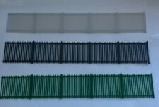 More details for model railway miniature scenery palisade fencing 1:76 oo gauge/scale - 6 pack 1m
