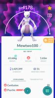 Pokemon Trade GO - Mewtwo Level 40 for PVP master League
