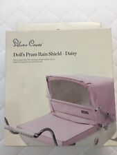Silver Cross Dolls Pram Rain Shield - Daisy