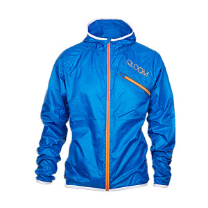 QLOOM ROEBUCK BAY Jacket Training apparel Man Azzuro