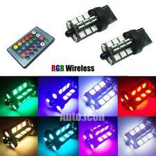 RGB Wireless 7440 T20 7444 27-SMD LED Decoration Bulbs DRL Parking Backup Lights