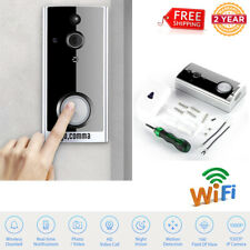 Smart Wireless WiFi 1080P Camera Video Doorbell Night Vision Chime Alert System