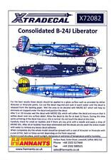 Xtra Decals 1/72 CONSOLIDATED B-24J LIBERATOR Dragon & His Tail & Short Snorter