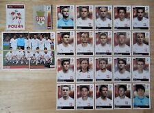 Panini UEFA Euro 2008 Austria/Switzerland Complete Team Poland + Foil Badge