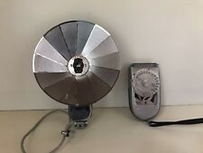 Vintage Honeywell Tilt-A-Mite Flash and Sekonic Model 36 Deluxe Light Meter