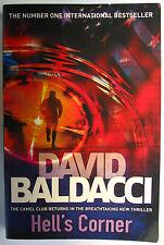 #O,., David Baldacci HELL'S CORNER, SC VGC