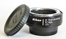 Nikon AF Teleconverter TC-16A 1.6x Excellent Free Shipping
