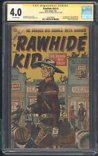 RAWHIDE KID 1 CGC 4.0 3/55 SS STAN LEE 1ST RAWHIDE KID APACHE RANDY CLAYTON