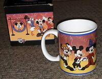 Vtg Disney World Resort Coffee Mug 1995 Box Official Disneyana Convention Mickey
