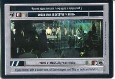 Star Wars CCG Premiere Black Border Yavin 4 : Massassi War Room