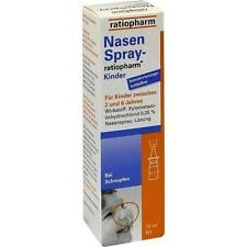 Nasenspray ratiopharm Kinder Kons. 10ml PZN 999854