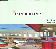 ERASURE Freedom 3 RARE REMIXES Europe CD single SEALED USA seller 2000 Motiv 8