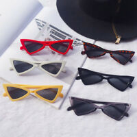 Women Vintage Triangle Sunglasses Fashion Anti-UV Glasses Cat Eye Eyewear Retro