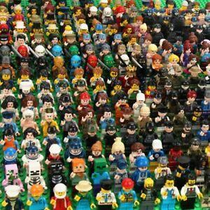 120pcs/lot NEW LE GO TYPE PEOPLE Building Blocks Figures