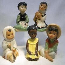 More details for retro 1950's branksome pottery children of the world child figure selection
