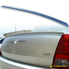 Fyralip Y22 Painted PB6 Marine Blue Trunk Lip Spoiler For CHRYSLER 300 300C SRT8