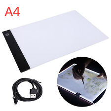 A4 LED Drawing Board Tracing Light Box Tattoo Arts Stencil UltraThin LightboxPad