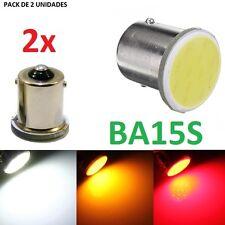 PACK DE 2 BOMBILLAS LED COB BA15S P21W P21 POSICION NIEBLA TRASERA BOMBILLA