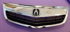 New Acura Tsx 2011-2014 All Chrome Grille Grill Whole Pc w/ Oe Emblem (Fits: Acura)