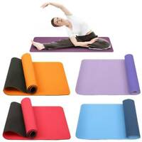 RDX Yoga Mat 6mm Thick Non Slip Pilates Gym Exercise Fitness Gymnastics