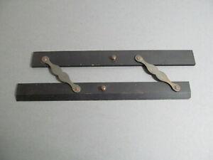 """Antique Lietz 12""""wood parallel rule"""