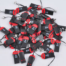 100pcs/lot USB 2.0 Card Reader High Speed Adapter Micro SD T-Flash TF M2 Memory