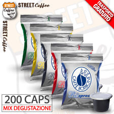 Assaggio Mix 200 Capsule Borbone Nera Rossa Blu Oro Respresso Nespresso gratis