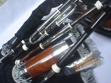 SPECIAL BLACK WOOD(Ebony) UILLEANN Pipe Half Set BLACK WOOD