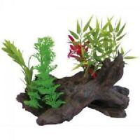 Decorazione pianta finta Phytos Lygnum 4 cm 20,5x12x10,5h per acquario