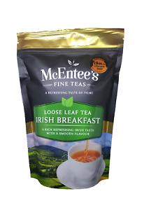 McEntee's IRISH BREAKFAST Tea - 250g Bag– AWARD WINNING & BLENDED IN IRELAND