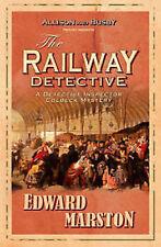 EDWARD MARSTON __  THE RAILWAY DETECTIVE  __ BRAND NEW __ FREEPOST UK