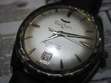 Rare Vintage Waltham 65-Jewel Men's Watch with Date Feature Automatic