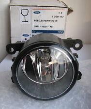 Ford Front Driving Fog Spot Lamp Light Focus Fiesta Fusion Transit Lens 1209177