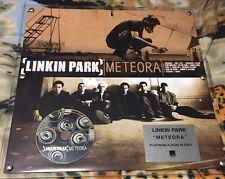 LINKIN PARK - METEORA - PLATINUM ALBUM in ITALY - 45X45 the PLEXIGLASS WEA ITALY