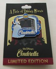 Cinderella – Piece of Disney Movies – New on Card – 2011 Disney Pin