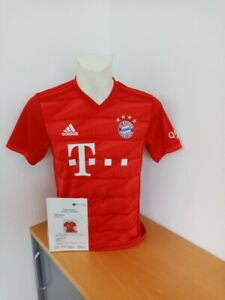 Bayern München Trikot Boateng signiert Autogramme Fußball Bundesliga Adidas  S