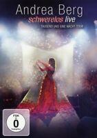 "ANDREA BERG ""SCHWERELOS LIVE"" DVD NEW+"