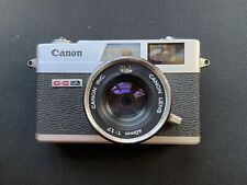 (N. Mint) Canon Canonet Ql17Giii 35mm Rangefinder Film Camera (Battery included)