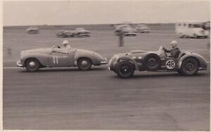 JOWETT &FRAZER NASH RACING DAILY EXPRESS TROPHY MEETING SILVERSTONE MAY1952PHOTO