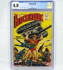 Quality Comics Blackhawk #88 CGC Graded 4.0 Dillin Cuidera Golden Age Era 1955