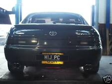 Custom Built TOYOTA SOARER STAINLESS DUAL EXIT CAT-BACK EXHAUST
