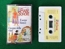 FIABE SONORE 1 MC (Fabbri 1999) - IL SERPE BIANCO + L'ACQUA DELLA VITA