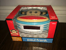 Paul Frank PF250 AM/FM Clock Radio w/ Battery Back-Up