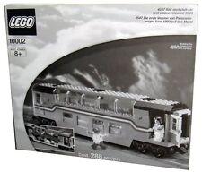 Lego 9V Train Legends 10002 / 4547 Railroad Club Car New SEALED