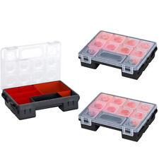 3x ORGANIZER Sortimentskasten Sortierkasten Schraubenbox BOX 32,5x26x6,5cm